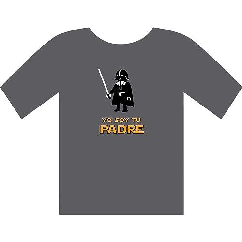 Camiseta Darth Vader Click - Yo soy tu padre - Regalos para el día del Padre