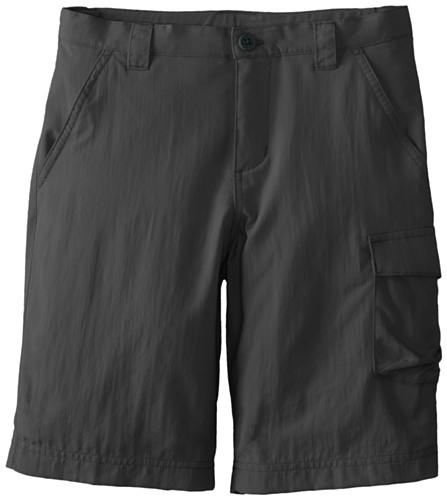 Columbia Boy's Silver Ridge III Shorts (Youth), Grill, Large