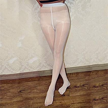 1f82bf819023d Image Unavailable. Image not available for. Color: Plus Size Super Shiny  Glossy Sheer Stockings Nylon ...