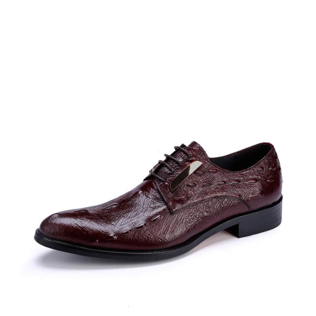 Zxcer Herrenschuhe Mode Hochzeit Schuhe Tragen Casual Low Cut Spitz Leder Schuhe Männer Krokodil Trend Herrenschuhe B07M5NQZX1  | Glücklicher Startpunkt