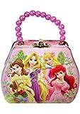Disney Princess Purse Shaped Tin Box With Beaded Handle