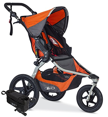 BOB Revolution Flex Jogging Stroller, Canyon with Handlebar