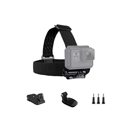 Head Strap and Quick Clip for DJI Osmo Action Camera Hat Cap Mount Belt Mount