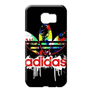 samsung galaxy s6 edge Sanp On Scratch-proof trendy cell phone covers adidas famous top?brand logo