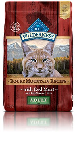 bluee Buffalo Cat Rocky Mountain Recipes Adult Red Meat Dry Cat Food, 10 lb Bag by bluee Buffalo