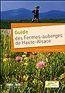 Guide des Fermes-auberges de Haute-Alsace par Zenner