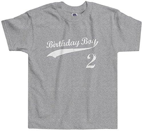 Threadrock Little Boys' Birthday Boy 2 Year Old Toddler T-shirt 3T Sport...
