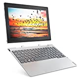"Lenovo MIIX 320-10ICR - Tablet de 10.1"" (WiFi, Bluetooth 4.1, Intel Atom Z8350, 4 GB de RAM, 64 GB de eMMC, Intel HD, sistema operativo Windows 10 Home) platino - teclado QWERTY español"