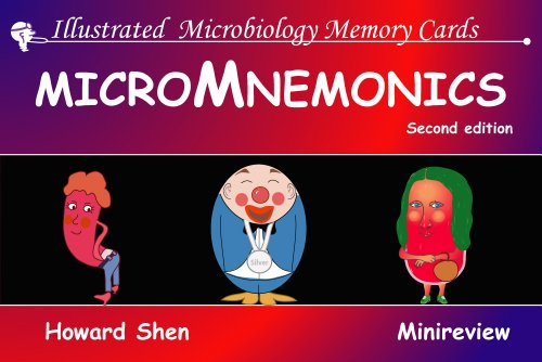 Illustrated Microbiology Memory Cards: MicroMnemonics; 2nd edition (Illustrated Memory Cards) (2nd Memory Card)