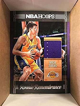 41a62b250f1 Amazon.com: 2017-18 Panini Hoops Rookie Remembrance #30 Ivica Zubac ...