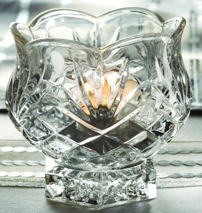 Condiment Bowl Carolyn Crystal Votive Candle Holder