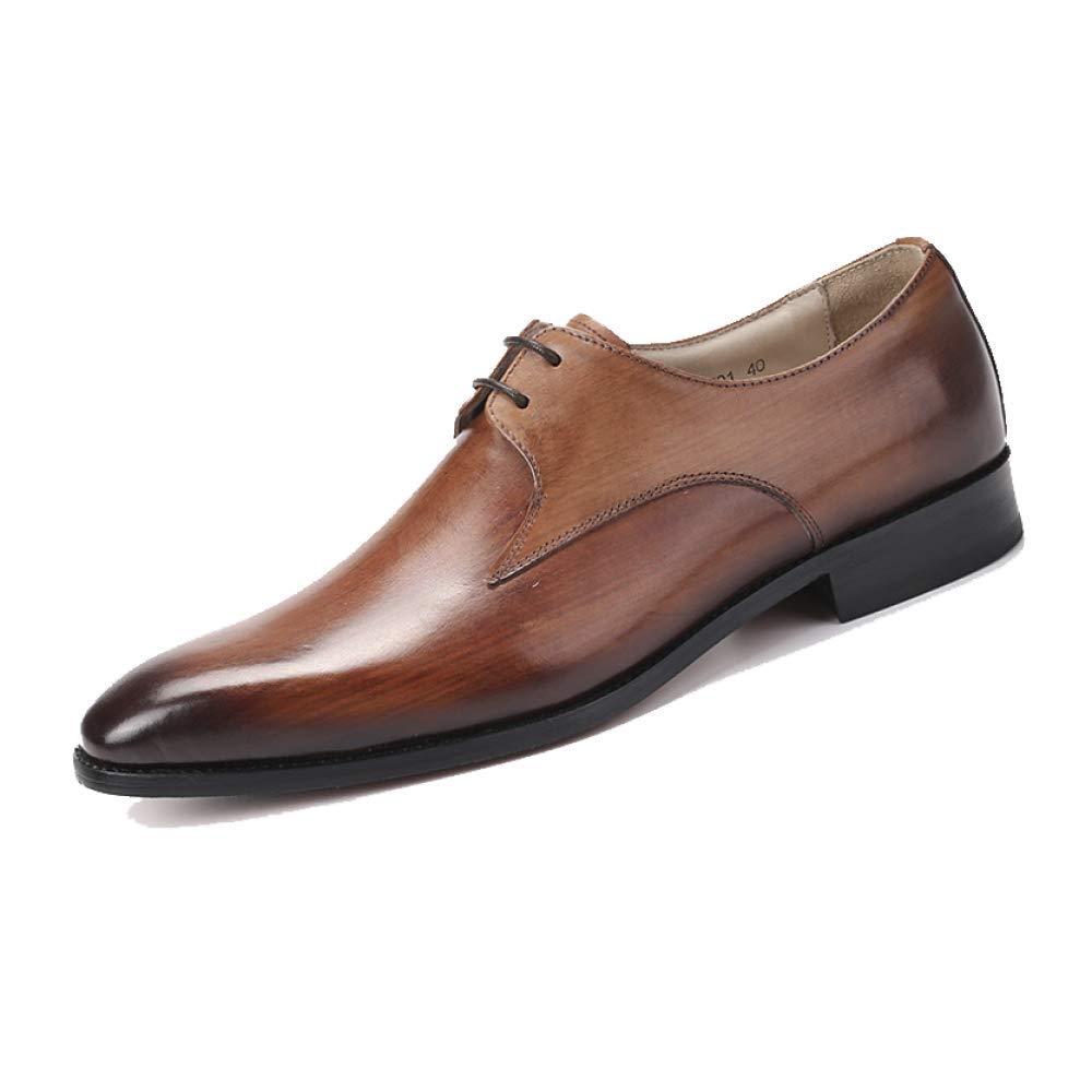 Niumt Arbeitsschuhe Business Stilvoll Niedrige Schuhe Mode Spitz