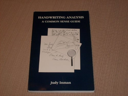 Handwriting Analysis A Common Sense Guide by Humphrey Printing Co