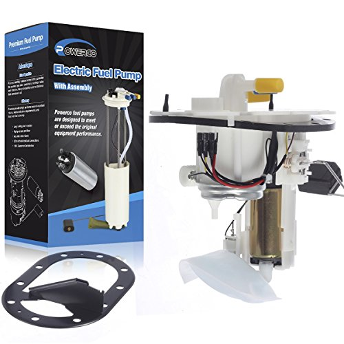 (POWERCO Electric Fuel Pump SP4039M Replacement for Subaru Baja 2003 H4 2.5L, and Legacy 2000 2001 2002 2003 H4 2.5L with Sending Unit)
