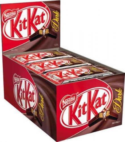 Kit Kat Dark Four Finger 45g (Box of 24)