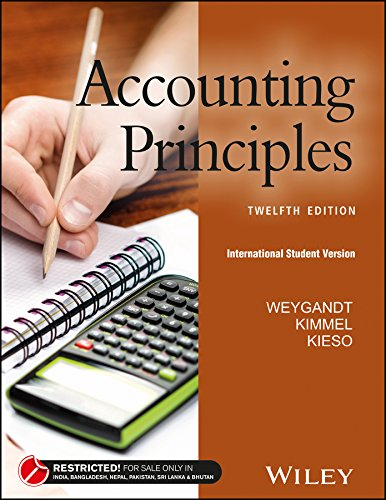 Accounting Principles (12th Edition)