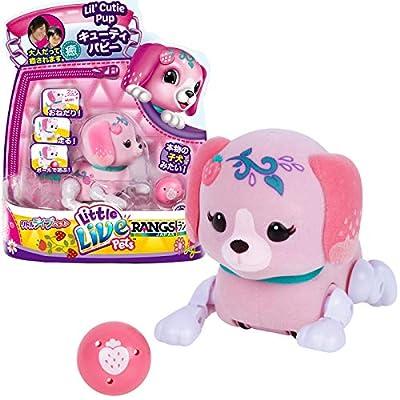 Little Live Pets S1 Cutie Pup Single Pack - Pawberry: Toys & Games