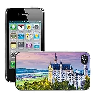 Print Motif Coque de protection Case Cover // V00002613 Neuschwanstein // Apple iPhone 4 4S 4G