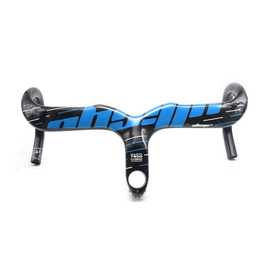 Unbekannt Kohlenstoff Lenker Ultraleicht Radfahren Fahrrad Griff Gebogen Riegel 400/420/440 Sport Draußen Bremse