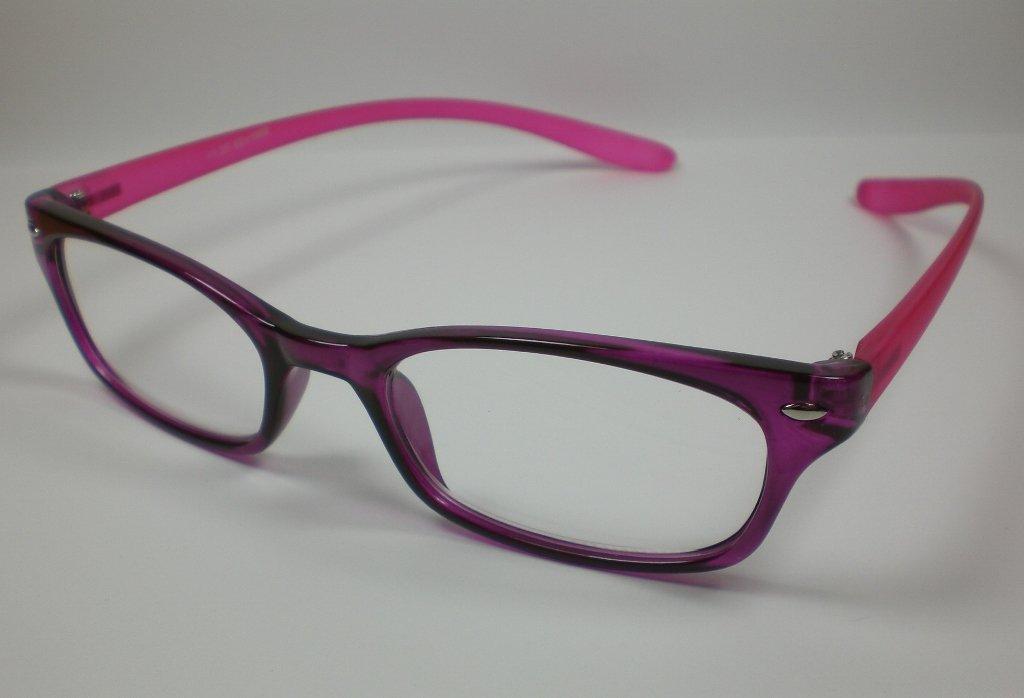 Hermosa de lectura de gafas de sol + 3,0 DIOP. Largo de ...