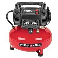 PORTER-CABLE C2002-WK Compresor de panqueques UMC sin aceite con kit de accesorios de 13 piezas