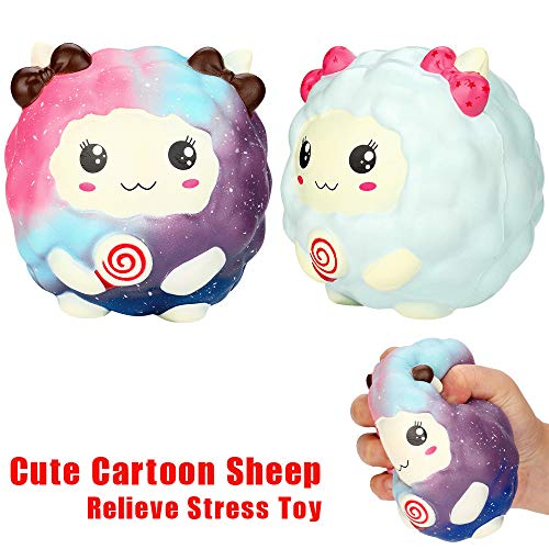 Ketteb Online Store for Kids Toys Cartoon Kawaii Sheep Slow Rising Scented Squeeze Toy Collection Cure Gift