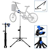 Eosphorus Professional Bicycle Repair Stand | Bike Maintenance Stand Adjustable 42.5'' to 74'' w/Telescopic Arm | Max 66lbs