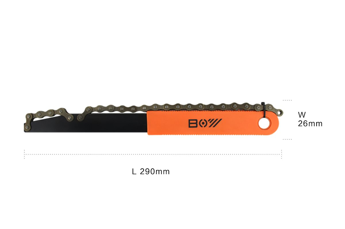 HEYANG Bike Chain Whip Cassette Lockring Tool Chain Removal Cog Sprocket Wrench Tool by HEYANG (Image #3)