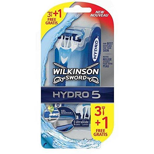 Wilkinson afeitadora corporal desechables Hombres Hydro 5 X3 ...