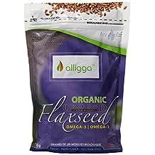 Alligga Organic Ground Flaxseed 500-Gram