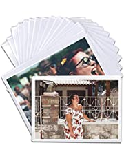 Pack of 15 Magnetic Picture Frame with Clear Pocket, 4 x 6 Inches Refrigerator Photo Holder for Fridge Office Cabinet Locker, White