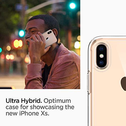 Spigen Ultra Hybrid Designed for iPhone Xs Case (2018) / Designed for iPhone X Case (2017) – Crystal Clear