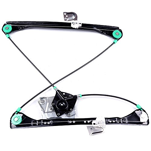 cciyu Front Left Drivers Side Power Window Lift Regulator Replacement Replacement fit for 1999-2005 Pontiac Grand Am 4 Door 1999-2004 Oldsmobile Alero 4 Door(NO Motor Assembly)