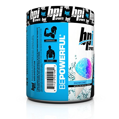 BPI Sports Best Creatine Supplement, Snow Cone, 10.58 Ounce