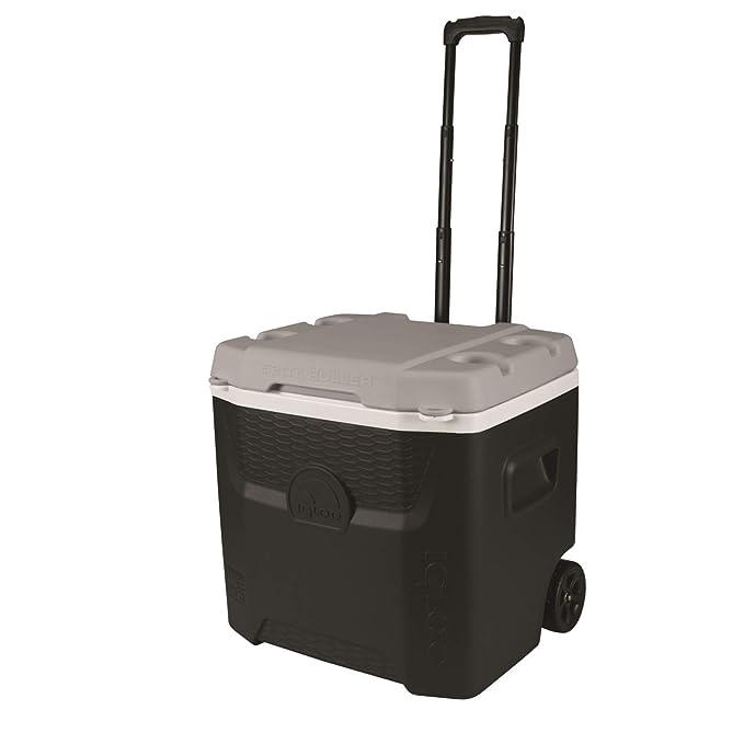 Igloo Nevera portátil Quantum 49 litros Roller Negra Ruedas ...