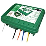 Large FL-1859-330 Weatherproof Connection Box Green Edition