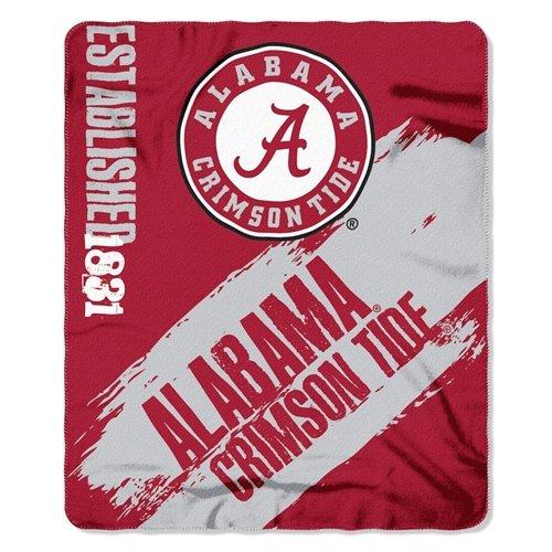 The Northwest Company Alabama Crimson Tide 50x60 Fleece Blanket - College Painted Design
