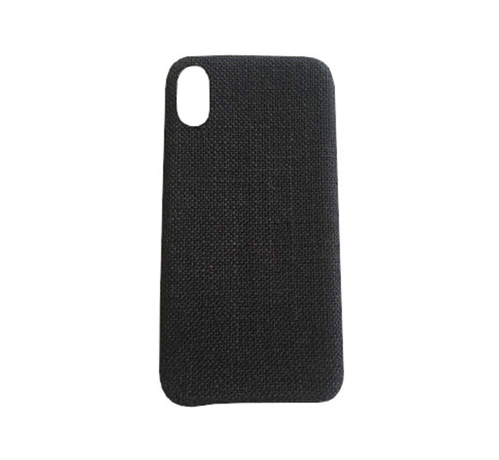 3b9457a309 Amazon | Spinas(スピナス)iPhone ケース シンプル な 無地 ファブリック スマホ カバー 布張り iPhone7/8  iPhone7/8plus iphoneX/XS iphoneXSMAX iphoneXR 対応 全4 ...