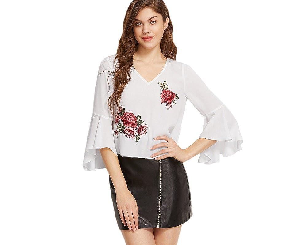 Blusas De Mujer De Moda 2018 Sexy Ropa Para Mujer Elegante ...