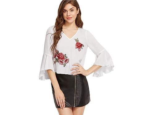 2017 Blusas Vestidos Ropa De Moda Para Mujer De Fiesta y Noche Elegante Blanca (S