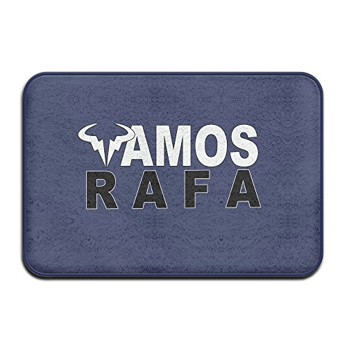 [VDSEHT Rafael Nadal Rafa Vamos Logo Non-slip Doormat] (Meaning Costume Design)