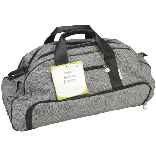Silhouette CAMEO Tweed Rolling Tote for Scrapbooking ()