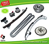 Timing Chain Kit+ 2pcs(Intake+Exhaust) VVT Gear For TOYOTA CAMRY 2AR-FE 2.5L Lexus E300h TOYOTA SIENNA 1AR-FE 2.7L