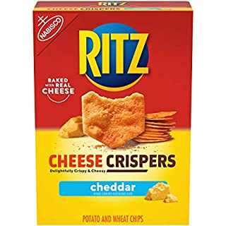 RITZ Cheese Crispers Cheddar Chips, 7oz