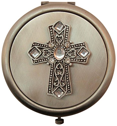 Fei Gifts Cross Compact Mirror by Fei Gifts