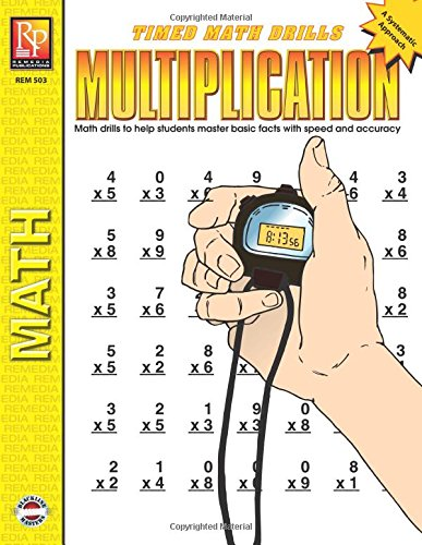 - Timed Math Drills: Multiplication | Reproducible Activity Book
