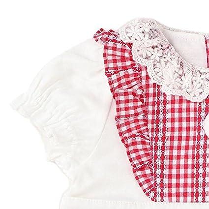 056c38e846281 Amazon.co.jp: ブルマつきメイドさん風エプロンドレス 紺 80  服&ファッション小物