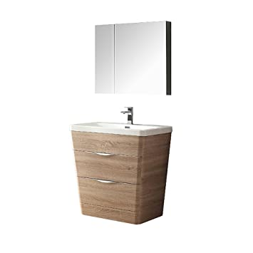 Fresca Bath FVN8140GO Allier 40u0026quot; Vanity With Mirror, ...
