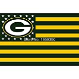 NFL Green Bay Packers Stars and Stripes Flag Banner - 3X5 FT