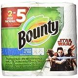 Bounty Select-A-Size Paper Towels, Star Wars Print, 2 Huge Rolls = 5 Regular Rolls